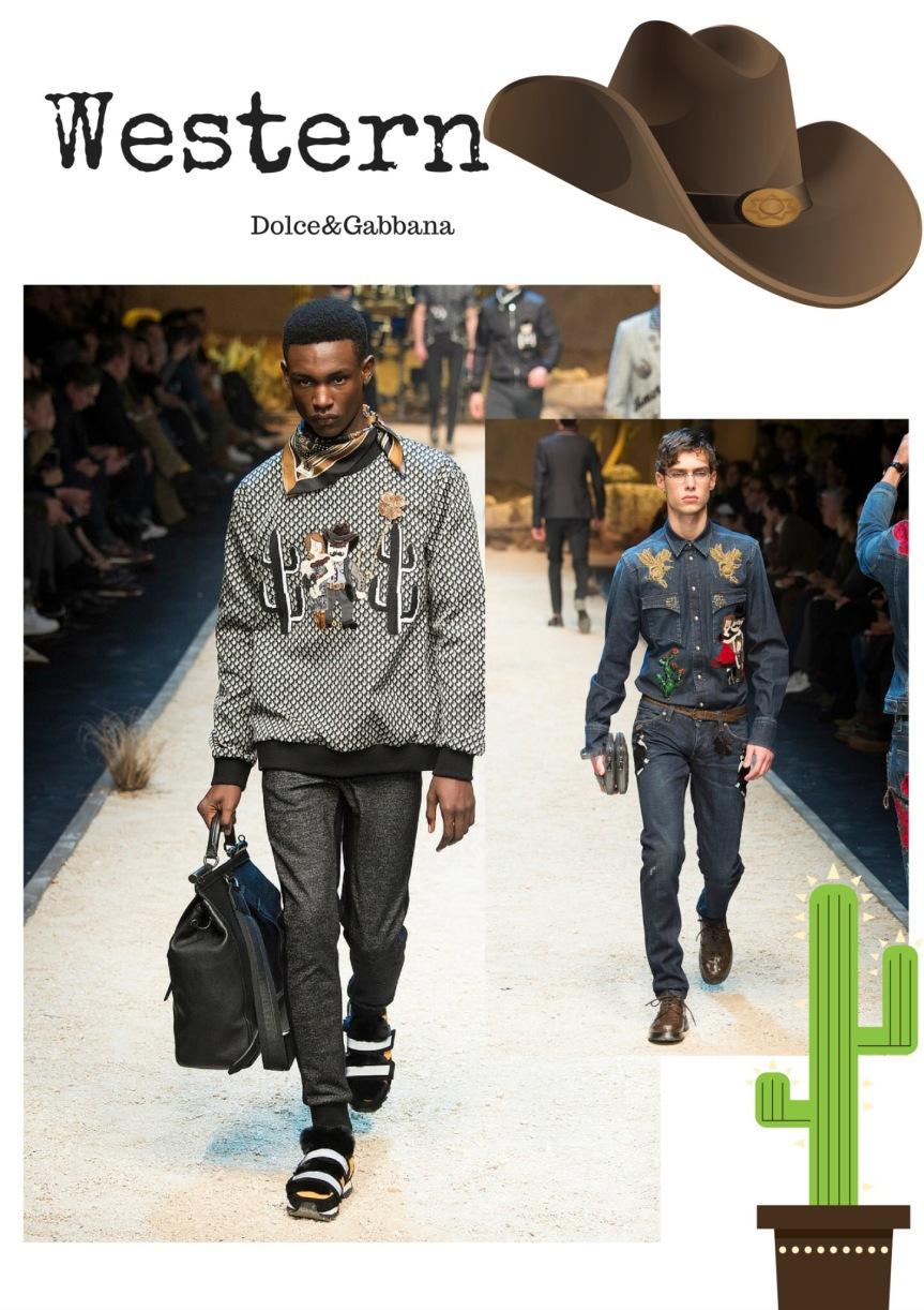 Menswear NYFW Trend Report –Western